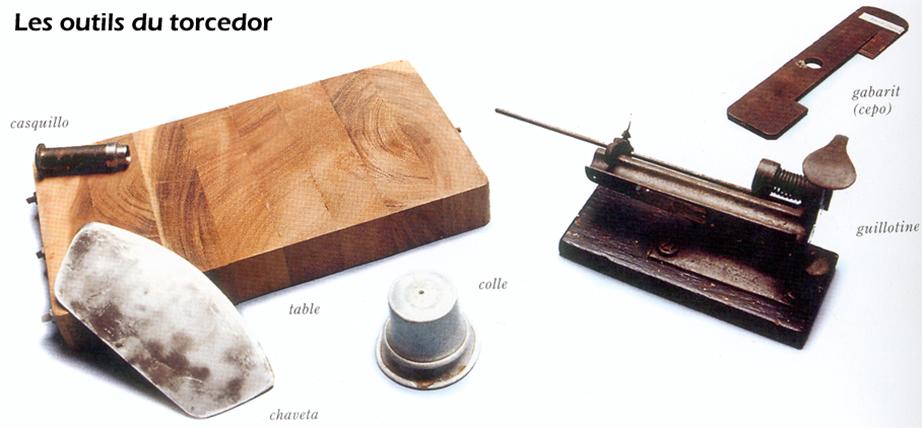 les outils du torcedor